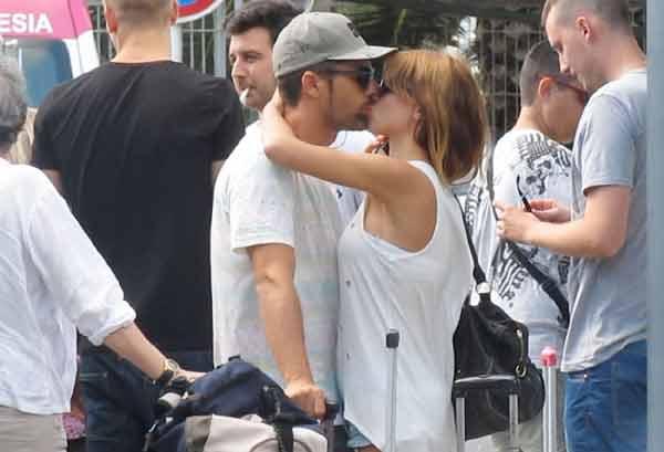 Raquel Jiménez, ex de David Bisbal, pasea su amor en Ibiza