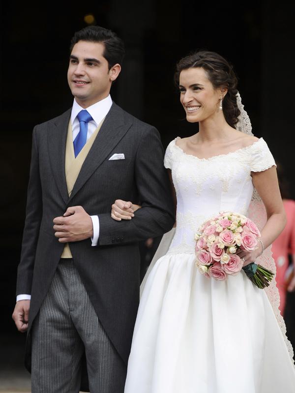 La política y la alta sociedad se dan cita en la boda del hijo del presidente de Iberdrola