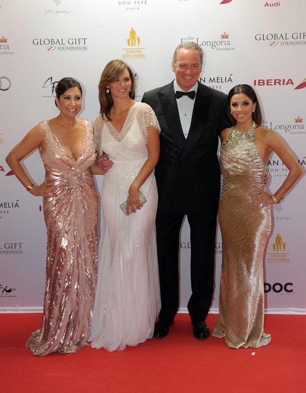 Eva Longoria, Bertín Osborne, Luis Medina... en la primera gala benéfica del verano marbellí