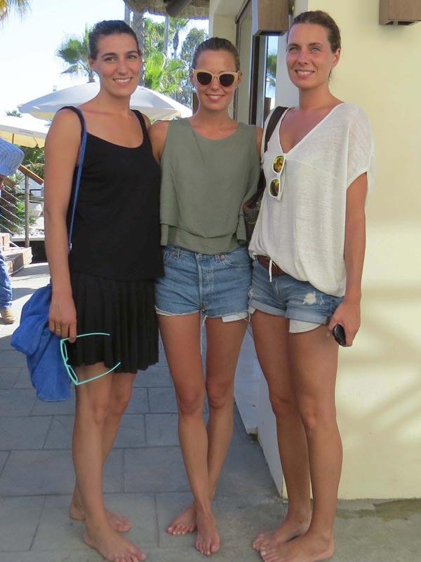 Eugenia, Alejandra y Claudia, hijas de Bertín Osborne ...