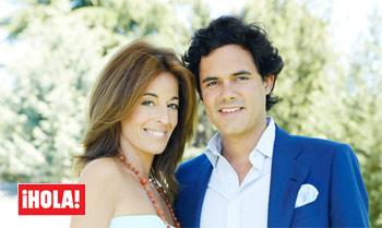 Mónica Martín Luque y José Manuel Yzaga en ¡HOLA!: 'Nos casamos en noviembre, en Marruecos'