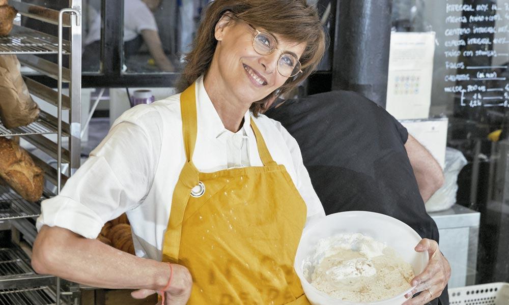 Cocinamos el pan artesano más delicioso con Inès de la Fressange