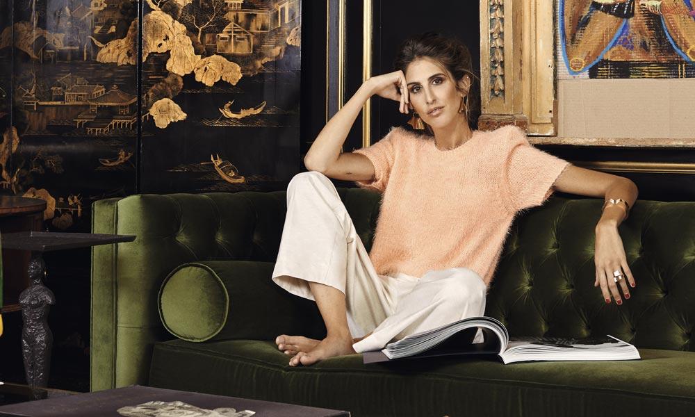 Estrenamos enero con Inés Domecq, portada del nuevo ¡HOLA! living