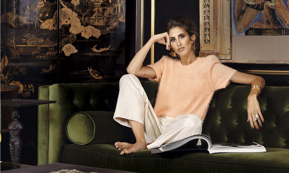 Un look de portada: los básicos de Inés Domecq para ser la anfitriona perfecta