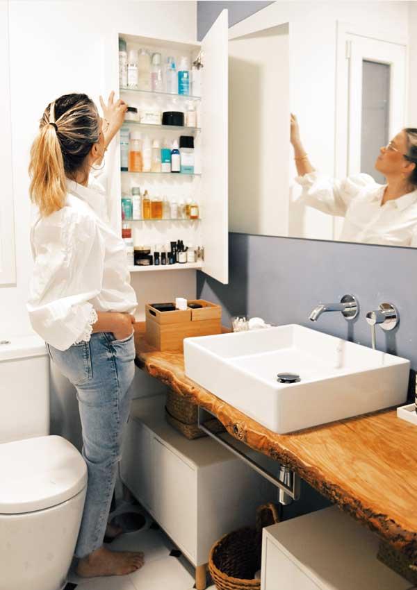 8 consejos para ordenar tu cuarto de baño (y tu cabeza)