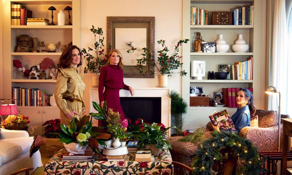 Las claves de Marina y Paola Herrera para una decoración navideña excepcional