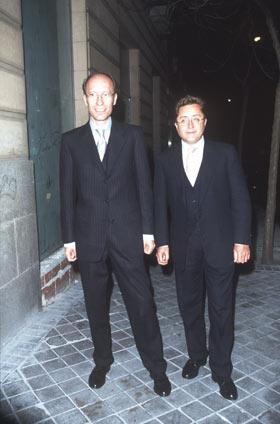 Victorio & Lucchino diseñan para hombre
