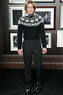 Ralph Lauren, debut de éxito en la pasarela milanesa