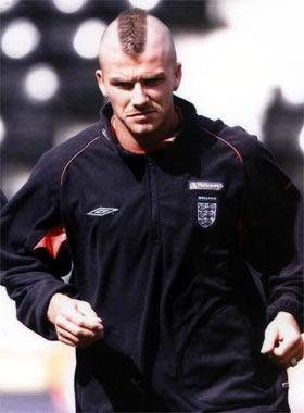 Todos quieren el peinado de David Beckham