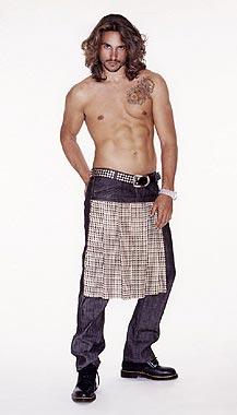 La falda llega al vestuario masculino