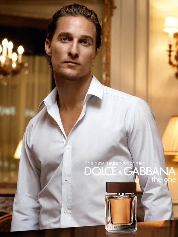 Matthew McConaughey, protagonista del anuncio de un nuevo perfume