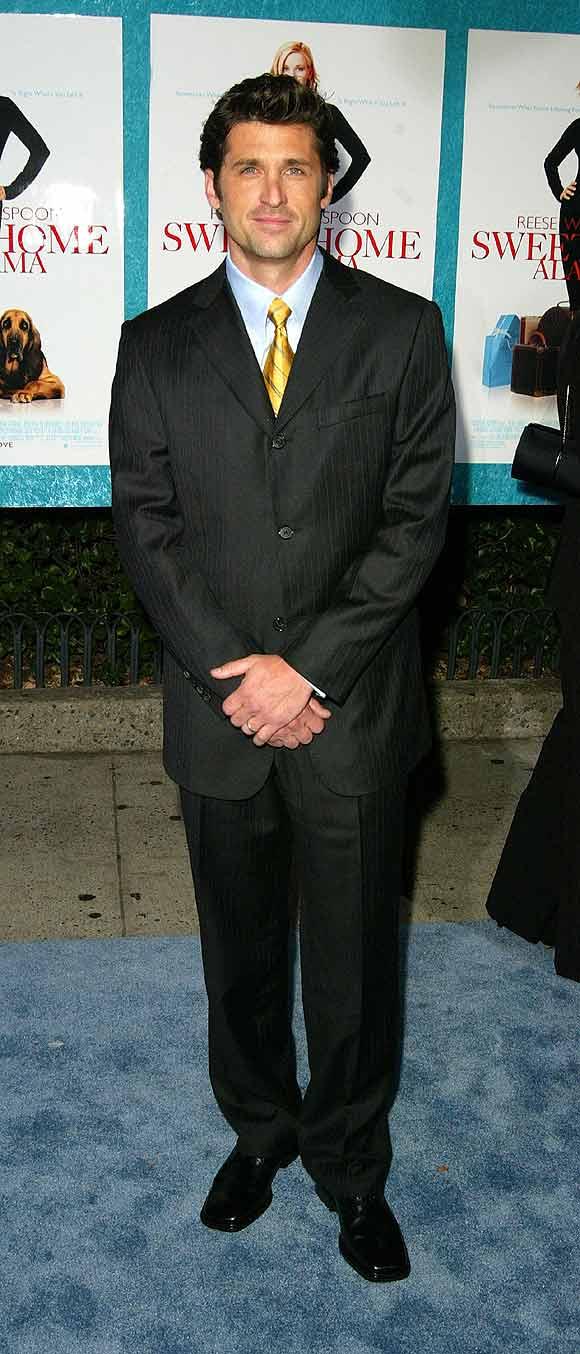 El estilo del actor... Patrick Dempsey