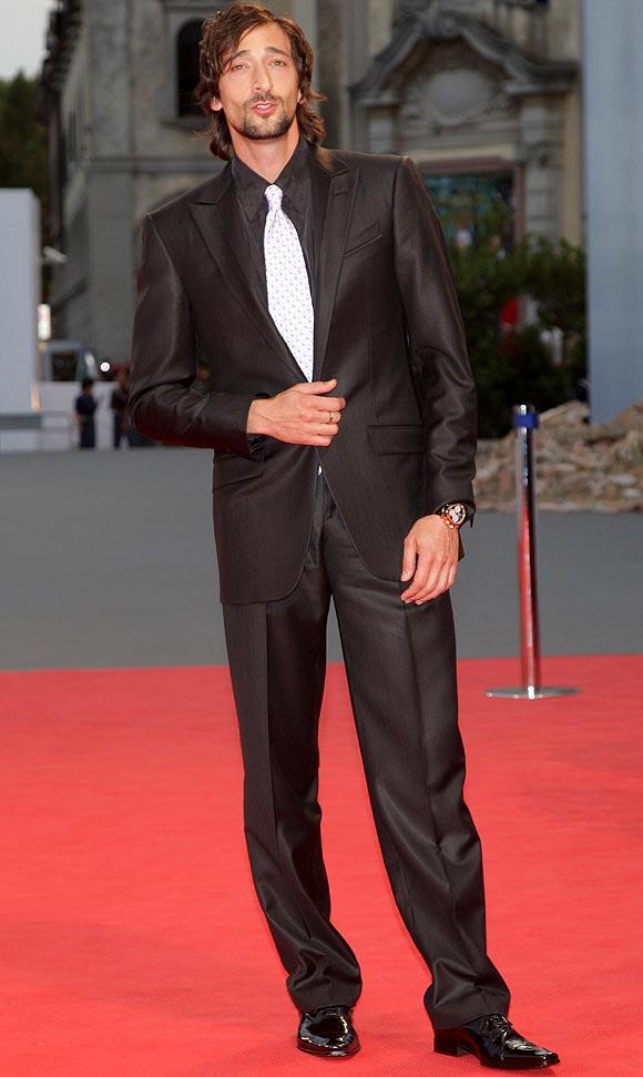 El estilo de... el actor Adrien Brody