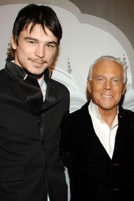 Josh Hartnett, nueva imagen de Giorgio Armani
