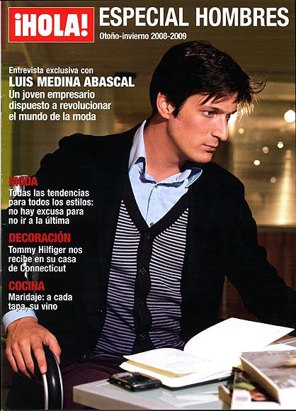 'Especial hombres' otoño-invierno 2008-2009, de regalo esta semana con la revista ¡HOLA!