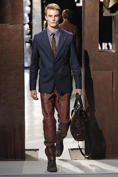 Milán desvela las tendencias masculinas para el otoño-invierno 2009-2010