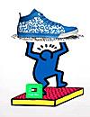 Arte en la moda: Keith Haring 'repite', esta vez en forma de zapatillas