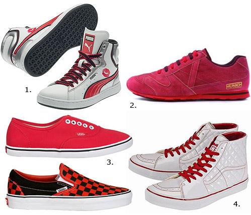 Este San Valentín, regálale unas zapatillas románticas