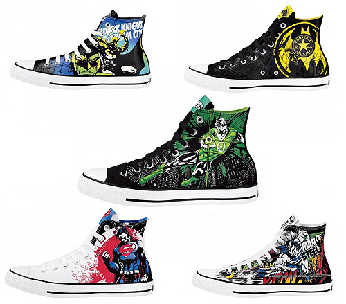 Superhéroes y zapatillas: Dos tendencias en una