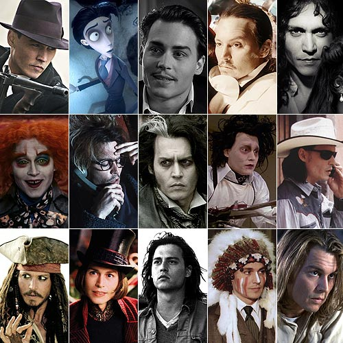 Las mil y una caras de Johnny Depp
