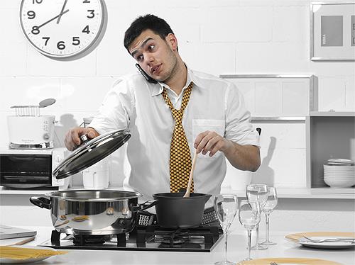 Chicos a la cocina sin miedo for Un soltero en la cocina