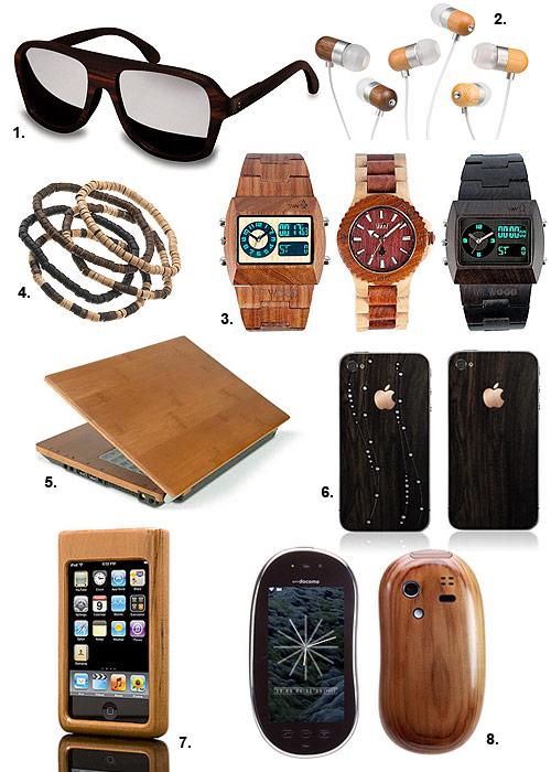 'Más madera': Te presentamos algunos de los accesorios más 'eco' del mercado