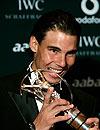 Duelo de estilo: Los 'looks' de Rafa Nadal y Zinedine Zidane