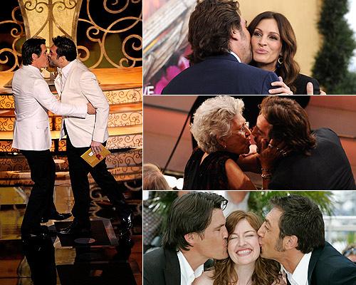 Los besos de Javier Bardem