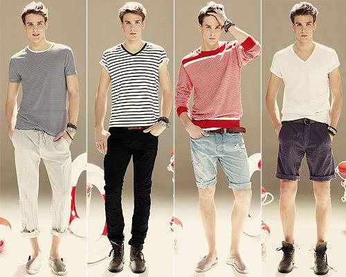 Una de las marcas que más lejos lleva la tendencia marinera es Blanco, cuya popular línea de hombre apuesta por la combinación de azules, blancos y rojos en