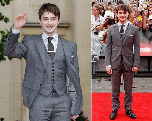 El 'look' de Daniel Radcliffe en el estreno mundial de Harry Potter