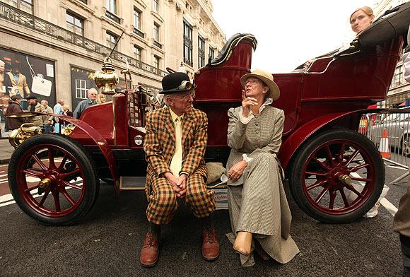 Londres vintage coche de Brighton