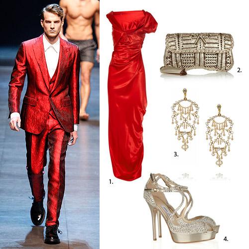 ¿Has pensado vestirte en pareja este Fin de Año?