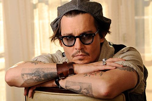 Johnny Depp, elegido icono de la moda