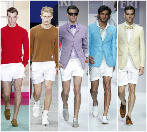 Tendencias 2012: Bermudas y 'short' en mil colores