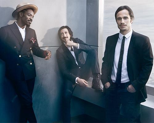 Adrien Brody, Gael García Bernal y André Benjamin, tres barbas con mucho estilo