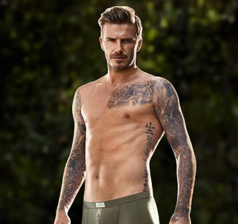 Guy Ritchie dirige a David Beckham en su vídeo más 'sexy'