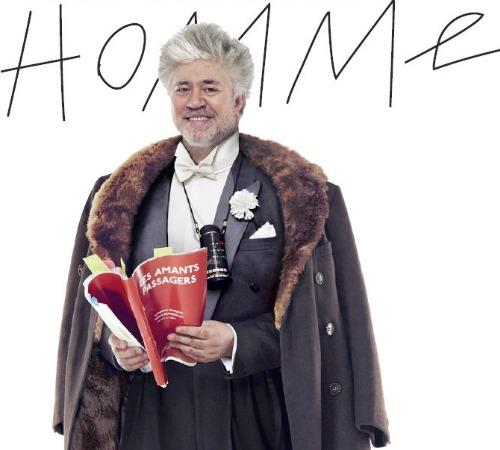 Pedro Almodóvar, todo un 'dandy' para Galerías Lafayette
