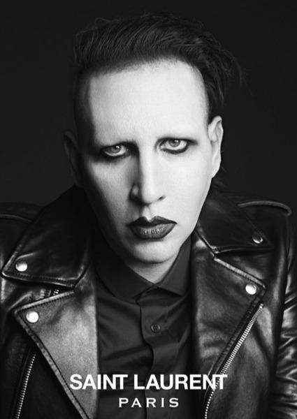 Marilyn Manson y Courtney Love, protagonistas de la nueva campaña de Saint Laurent