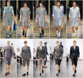 Tendencias para hombre: Los pantalones cortos ya no son tan cortos