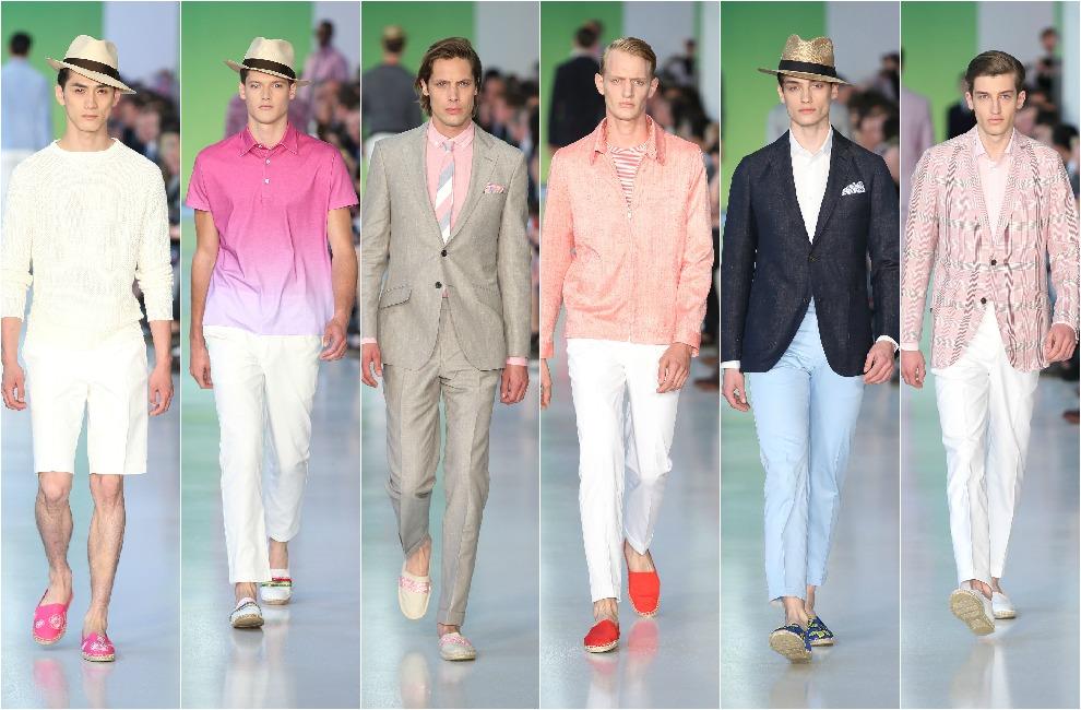 Londres capital de las tendencias para hombre - Colores moda primavera verano 2017 ...