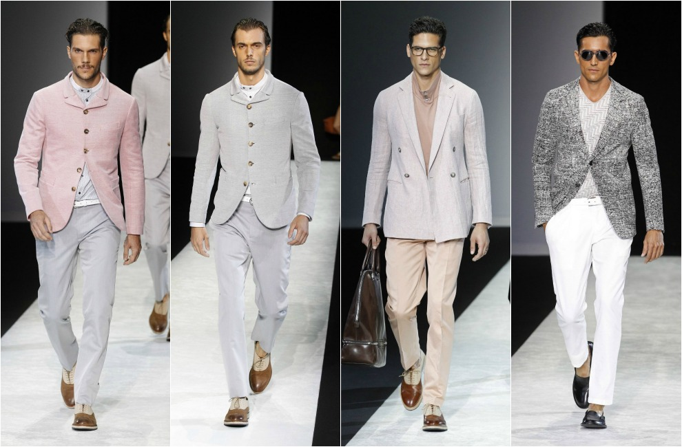 Desfiles de moda masculina. Colecciones, diseñadores y