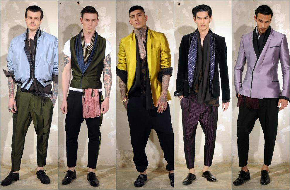 Valentino y Raf Simons brillan en la primera jornada de la Semana de la Moda Masculina de París