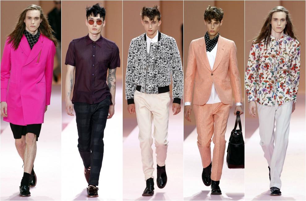 semana de la moda masculina en paris venezuela glam On moda de los 80 hombres
