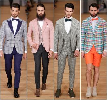 3ac79eb844 La pasarela masculina de Madrid cierra con un  aluvión  de famosos y  selectas prendas de sastrería
