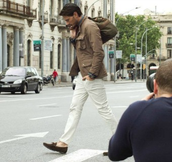 Andrés Velencoso, un modelo 'de altura' para The Sartorialist