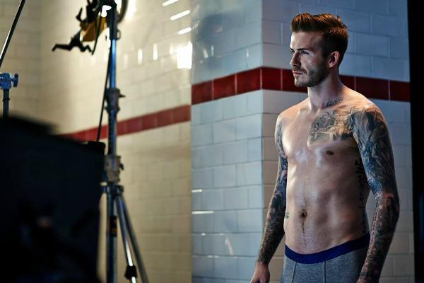 David Beckham, un 'sexy' modelo de ropa interior