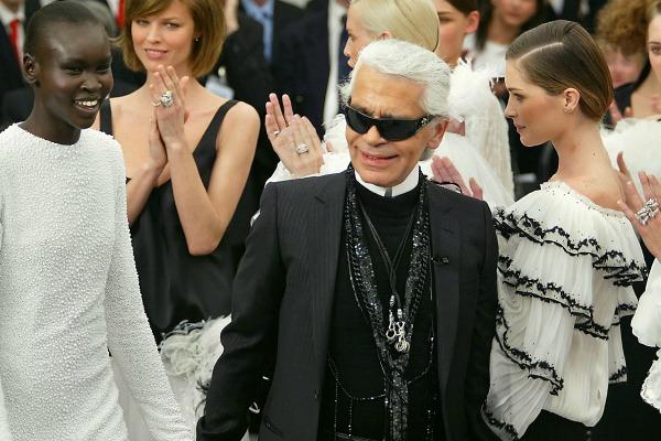 La edad secreta de Karl Lagerfeld