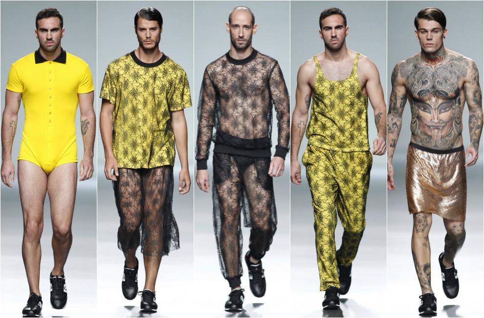 Los hombres de la Fashion Week Madrid