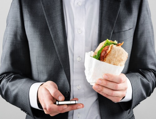 Come saludablemente, también en el trabajo