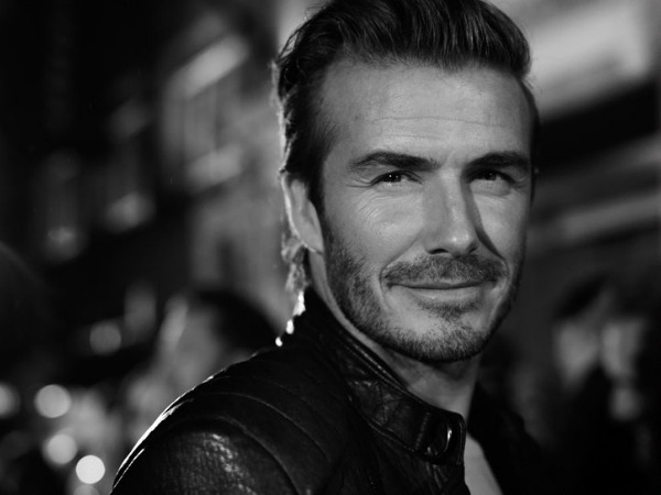 El lado 'motero' de David Beckham